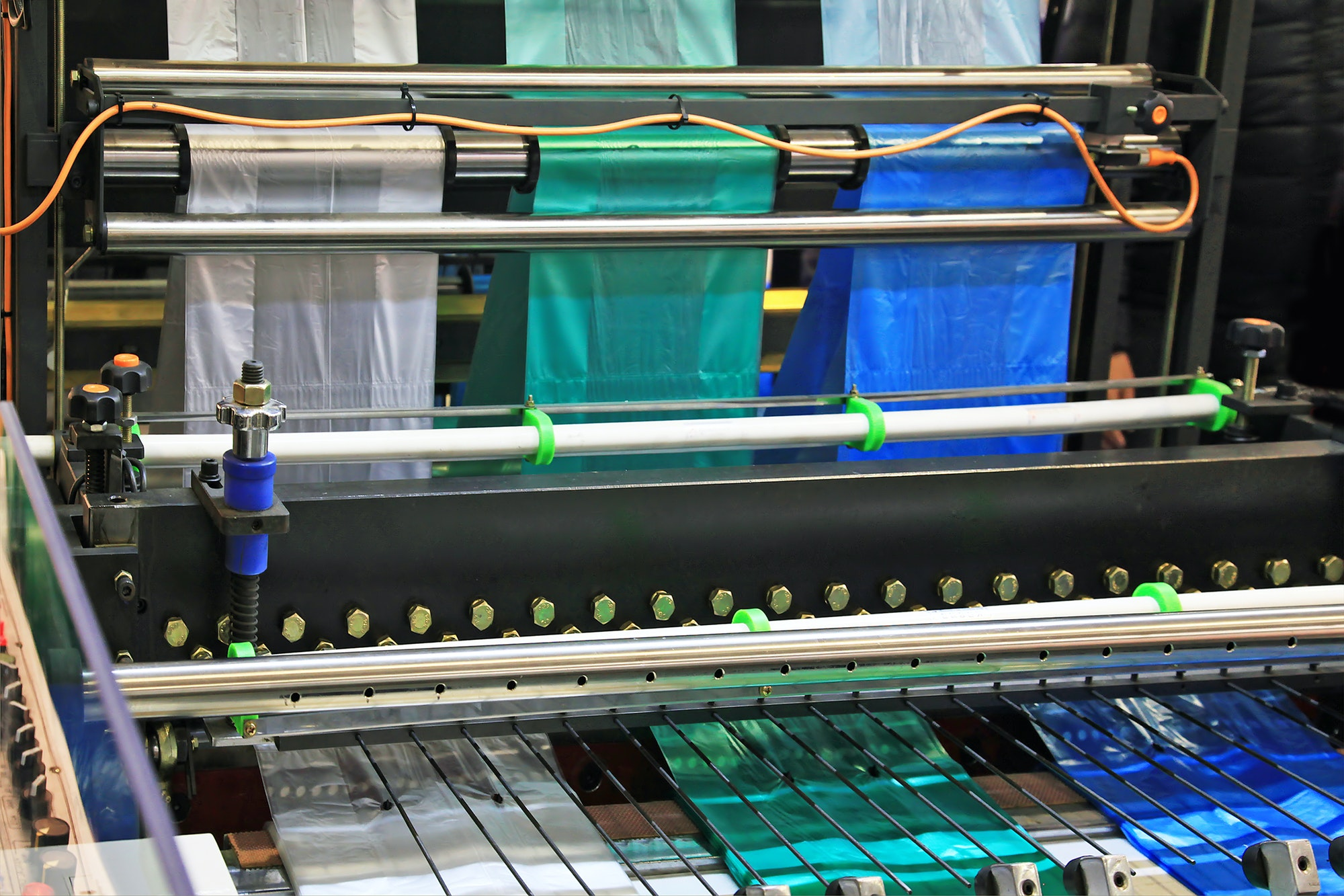 Manufacture of plastic bags